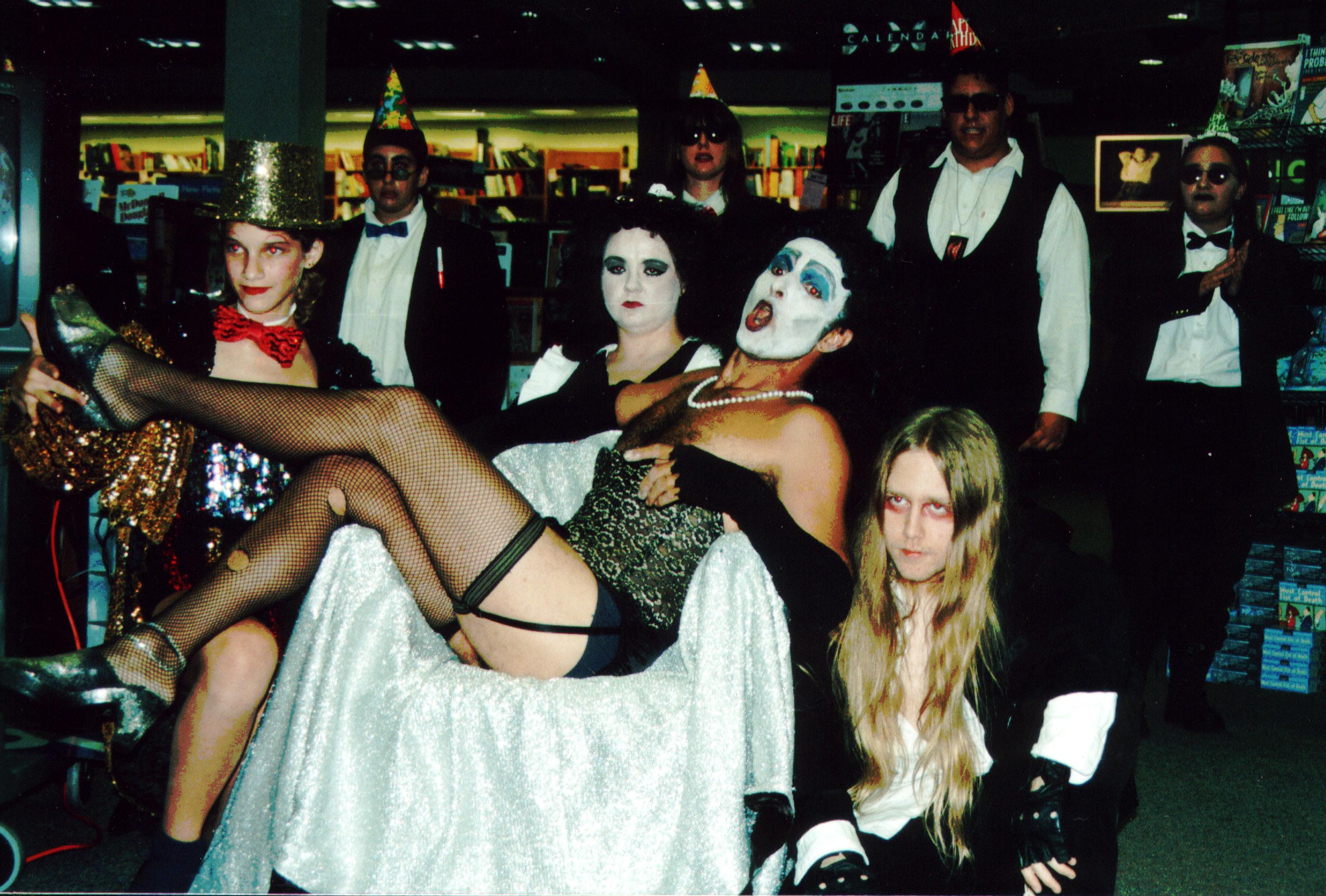 Rocky horror Picture Show Video Release Party